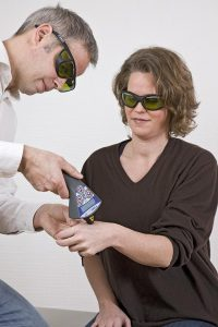 Laser therapy: gentle and painless