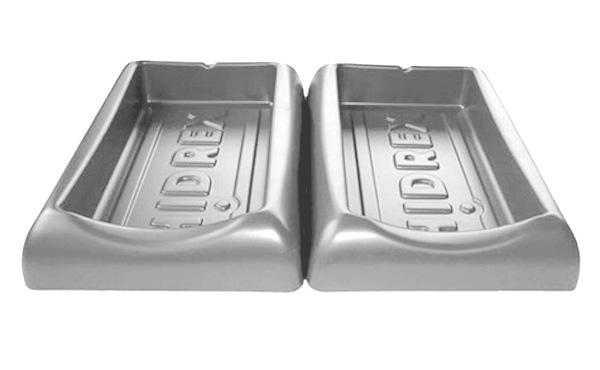 Cubetas ergonómicas - Óptima superficie de apoyo para el antebrazo en el tratamiento iontoforético